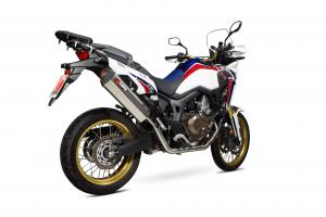 Scorpion Volledig systeem Serket Parallel RVS voor Honda CRF1000 L
