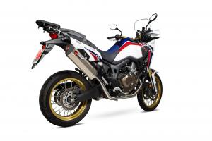 Scorpion Volledig systeem Serket Parallel Titanium voor Honda CRF1000 L