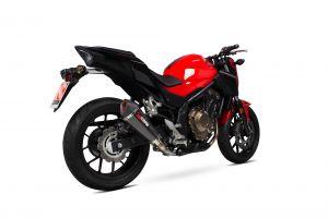 Scorpion Slip-On uitlaat Serket Taper Carbon voor Honda CB500 F / CB500 X