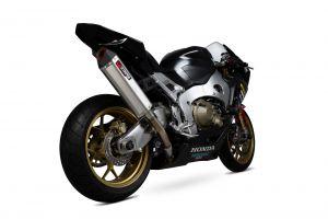 Scorpion Slip-On uitlaat Serket Track RVS voor Honda CBR1000RR Fireblade