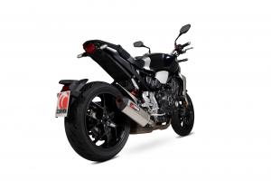 Scorpion Slip-On uitlaat Serket Parallel Titanium voor Honda CB1000 R