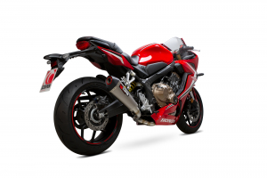 Scorpion Volledig systeem Serket Taper Titanium voor Honda CBR650 R