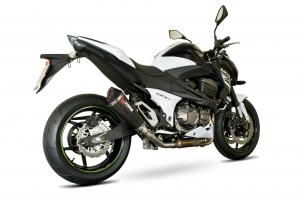 Scorpion Slip-On uitlaat Serket Taper Carbon voor Kawasaki Z800