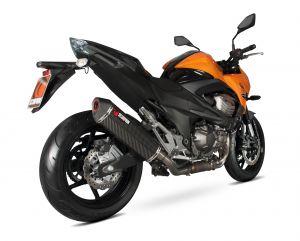 Scorpion Slip-On uitlaat Serket Parallel Carbon voor Kawasaki Z800 E