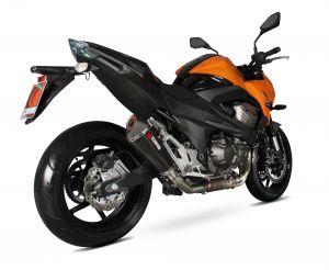 Scorpion Slip-On uitlaat Serket Taper Carbon voor Kawasaki Z800 E