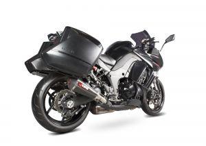 Scorpion Slip-On uitlaat Serket Taper Carbon voor Kawasaki Z1000 SX