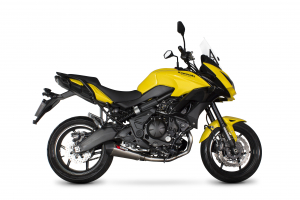 Scorpion Volledig systeem Serket Taper RVS voor Kawasaki Versys 650