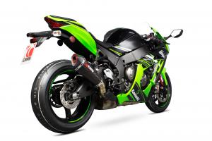 Scorpion Slip-On uitlaat Serket Taper Carbon voor Kawasaki Ninja ZX-10R / ZX-10RR / ZX-10R SE