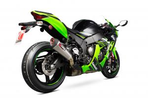 Scorpion Slip-On uitlaat Serket Taper Titanium voor Kawasaki Ninja ZX-10R / ZX-10RR / ZX-10R SE