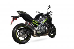 Scorpion Slip-On uitlaat Serket Taper Carbon voor Kawasaki Z900