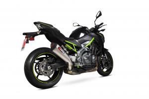 Scorpion Slip-On uitlaat Serket Taper Titanium voor Kawasaki Z900