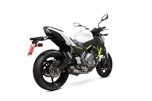 Scorpion Volledig systeem Serket Parallel Carbon voor Kawasaki Z650