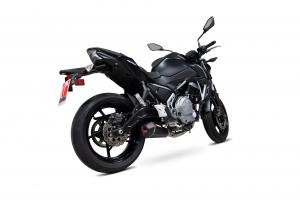 Scorpion Volledig systeem Serket Taper Carbon voor Kawasaki Z650