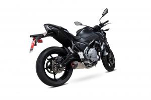 Scorpion Volledig systeem Serket Taper Titanium voor Kawasaki Z650