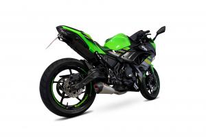 Scorpion Volledig systeem Serket Taper RVS voor Kawasaki Ninja 650