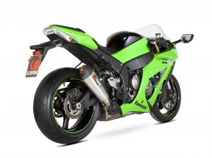 Scorpion Slip-On uitlaat Serket Taper RVS voor Kawasaki Ninja ZX-10R