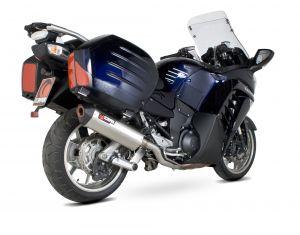 Scorpion Slip-On uitlaat Serket Parallel RVS voor Kawasaki GTR1400