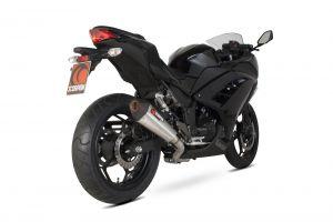 Scorpion Volledig systeem Serket Taper RVS voor Kawasaki Ninja 300 2012-15 / Z300 2015-16