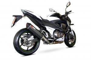 Scorpion Slip-On uitlaat Serket Parallel Carbon voor Kawasaki Z800