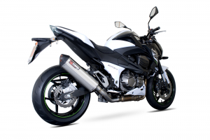 Scorpion Slip-On uitlaat Serket Parallel RVS voor Kawasaki Z800