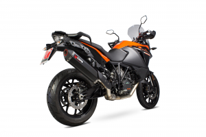 Scorpion Slip-On Serket Parallel RVS zwart voor KTM 1190 Adventure