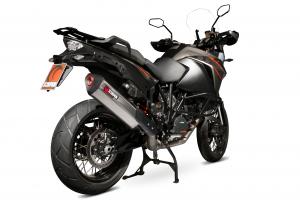 Scorpion Slip-On uitlaat Serket Parallel RVS voor KTM 1190 Adventure