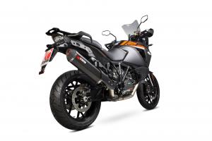 Scorpion Slip-On Serket Parallel RVS zwart voor KTM 1290 Super Adventure