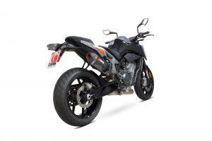 Scorpion Slip-On uitlaat Serket Parallel Carbon voor KTM 790 Duke