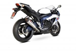 Scorpion Slip-On uitlaat Serket Taper RVS voor Suzuki GSX-R600 / GSX-R750