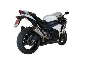 Scorpion Slip-On uitlaat Serket Taper RVS voor Suzuki GSX-R1000