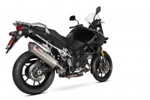 Scorpion Slip-On uitlaat Serket Parallel RVS voor Suzuki DL1000 V-Strom