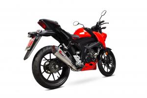 Scorpion Volledig systeem Serket Taper Titanium voor Suzuki GSX-S 125 / GSX-S 150
