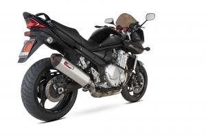 Scorpion Slip-On uitlaat Serket Parallel RVS voor Suzuki GSF1250 Bandit