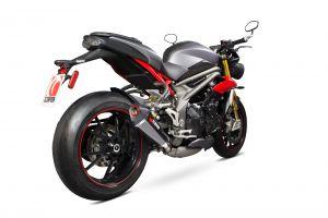 Scorpion Slip-On uitlaat Serket Taper Carbon voor Triumph Speed Triple 1050 R