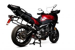 Scorpion Slip-On uitlaat Serket Taper Titanium voor Yamaha Tracer 900 / Tracer 900 GT