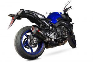 Scorpion Slip-On uitlaat Serket Taper Carbon voor Yamaha MT-10