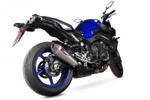Scorpion Slip-On uitlaat Serket Taper Titanium voor Yamaha MT-10