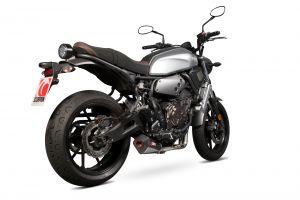 Scorpion Volledig systeem Serket Taper Carbon voor Yamaha XSR700 2016-2021 / XSR700 Xtribute 2019-2021