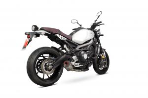 Scorpion Slip-On uitlaat Serket Parallel RVS voor Yamaha XSR900
