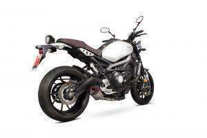 Scorpion Slip-On uitlaat Serket Parallel Titanium voor Yamaha XSR900