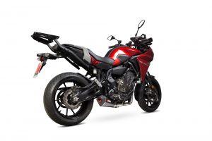 Scorpion Volledig systeem Serket Taper Carbon voor Yamaha MT-07 Tracer 2016-2021 / MT-07 Tracer GT 2019-2021