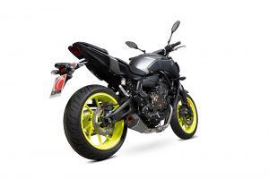 Scorpion Volledig systeem Serket Taper Carbon voor Yamaha MT-07