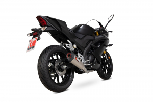 Scorpion Volledig systeem Serket Taper Titanium voor Yamaha YZF-R125