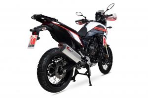 Scorpion Slip-On uitlaat Serket Parallel RVS voor Yamaha Tenere 700