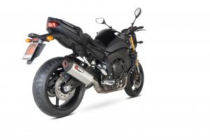 Scorpion Slip-On uitlaat Serket Parallel RVS voor Yamaha FZ8 / Fazer 8