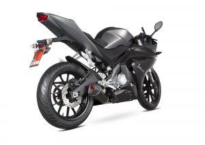 Scorpion Volledig systeem Serket Taper Carbon voor Yamaha YZF-R125