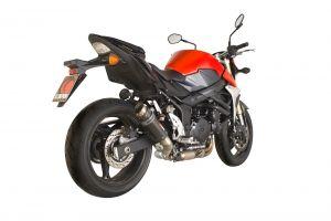 Scorpion Slip-On uitlaat RP1-GP Carbon voor Suzuki GSR750