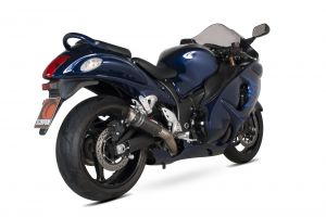 Scorpion Slip-On uitlaat RP1-GP Carbon voor Suzuki GSX1300 R Hayabusa