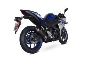 Scorpion Slip-On uitlaat RP1-GP Carbon voor Yamaha YZF-R3