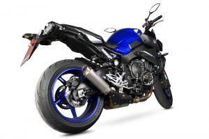 Scorpion Slip-On uitlaat RP1-GP Titanium voor Yamaha MT-10